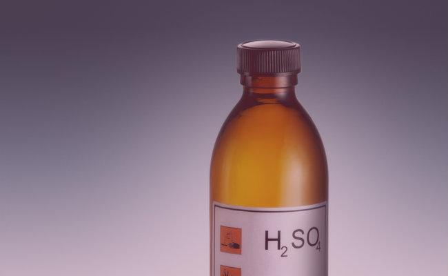 ¿Azufre en el Ácido sulfúrico?