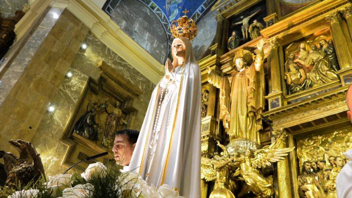 Advocación mariana de la Virgen de Fátima