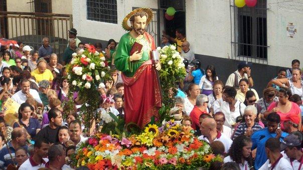 Devoción a San Judas Tadeo en algunas ciudades mexicanas