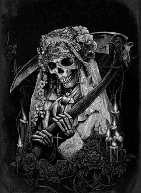 Pasos para crear altar a la Santa Muerte