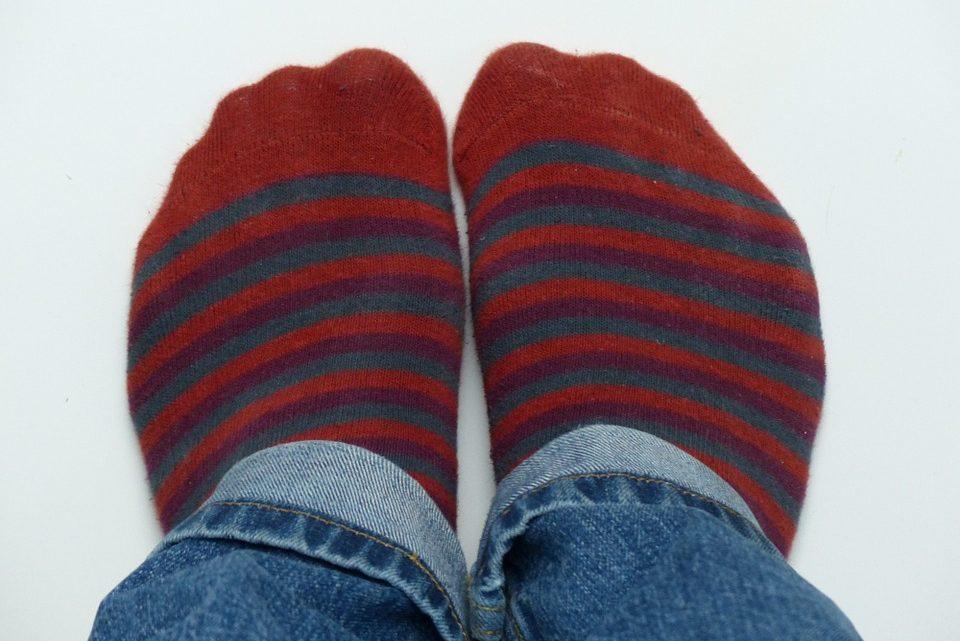 Los calcetines, prenda de moda para el 2019