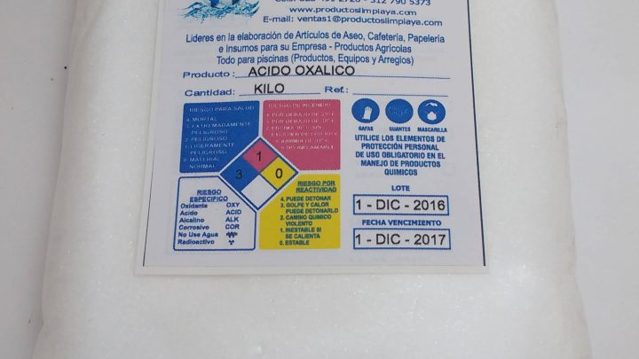 Los oxalatos y su relación con el ácido oxálico