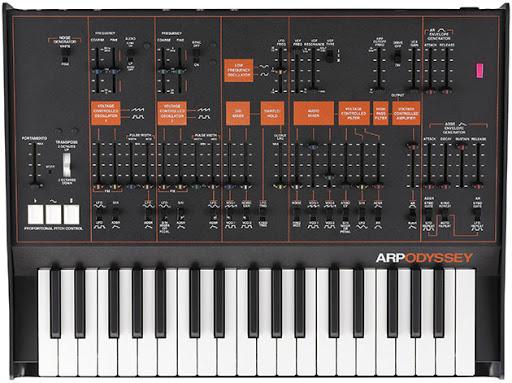 El uso de sintetizadores musicales