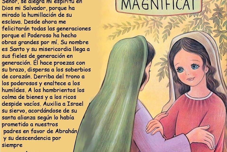 La oración de la magnífica virgen y sus lecciones