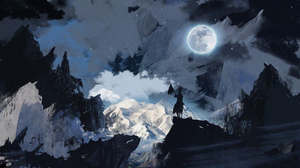 Luna como arte